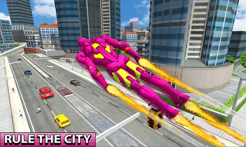 Flying Iron Hero City Survival