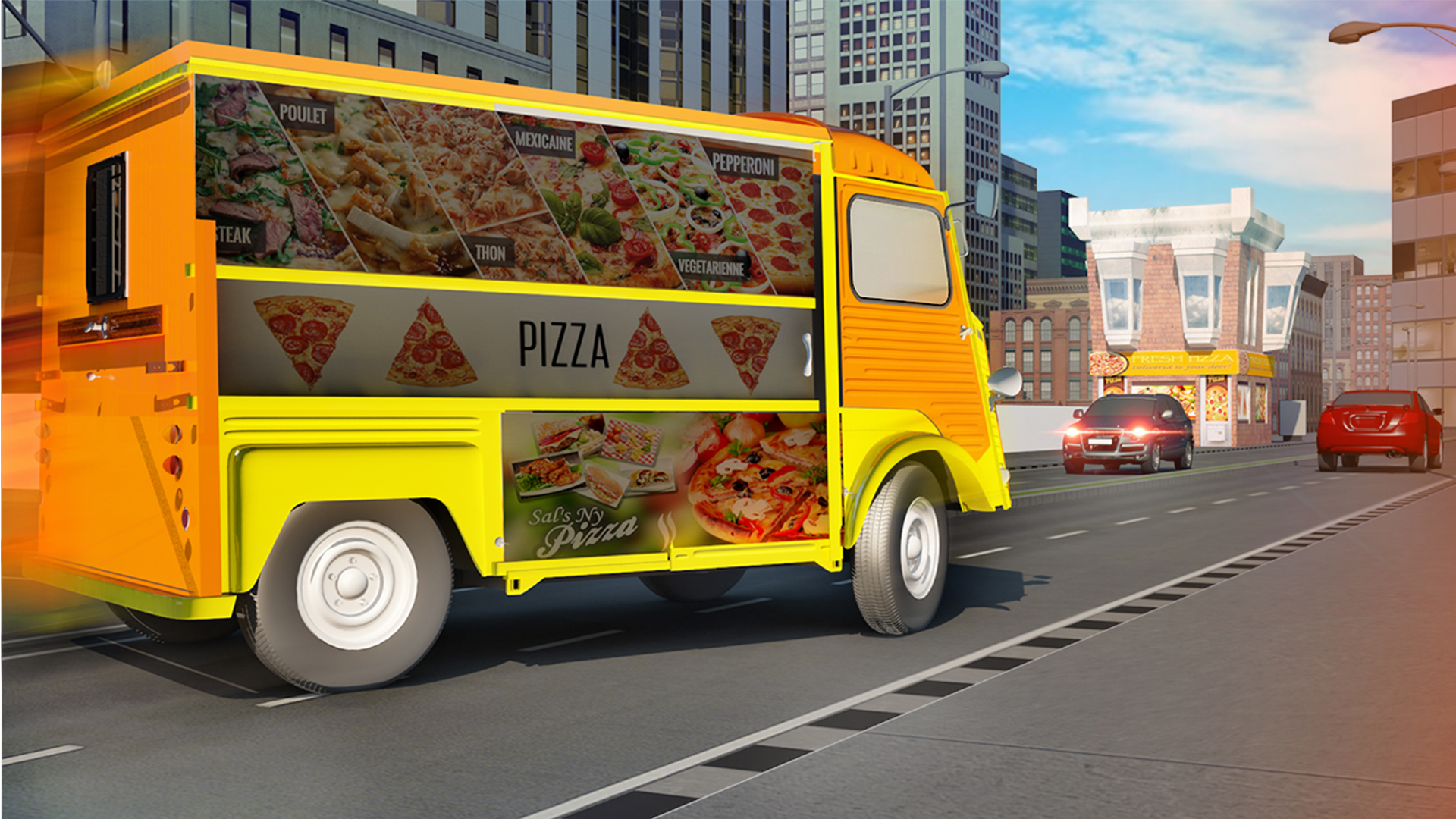 Grand Pizza - Superhero Van