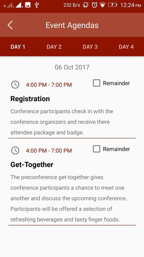 HAGC - Event Management App