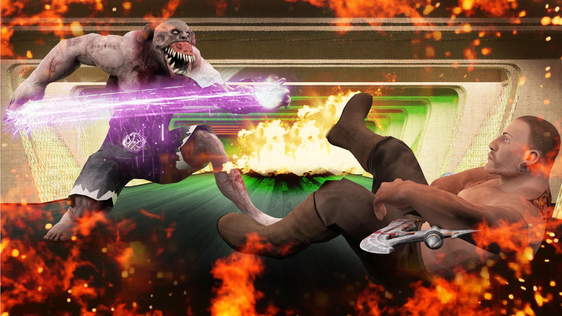 Incredible Monster Fighter vs Superhero Warrior