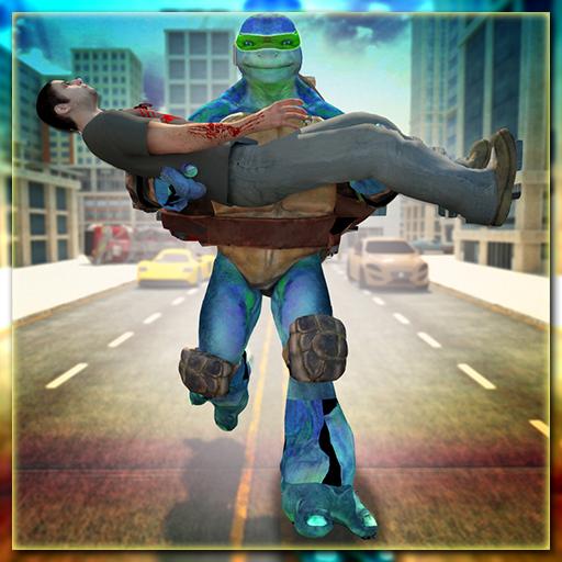Incredible Super Flying Ninja City Rescue Opt