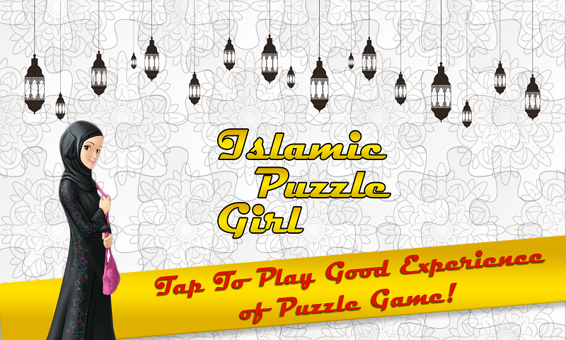 Islamic Puzzle Girl