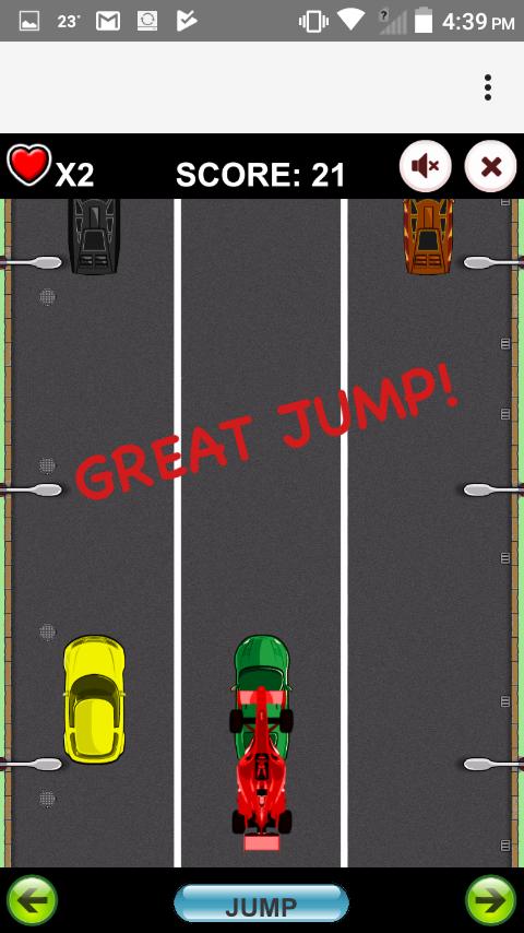 Jumping Formula