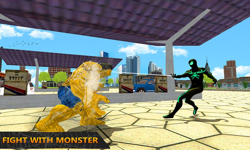 Multi Spider Heroes vs Super Villains