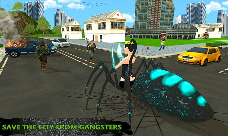 Multi Spider vs Gangsters: Strange Survival