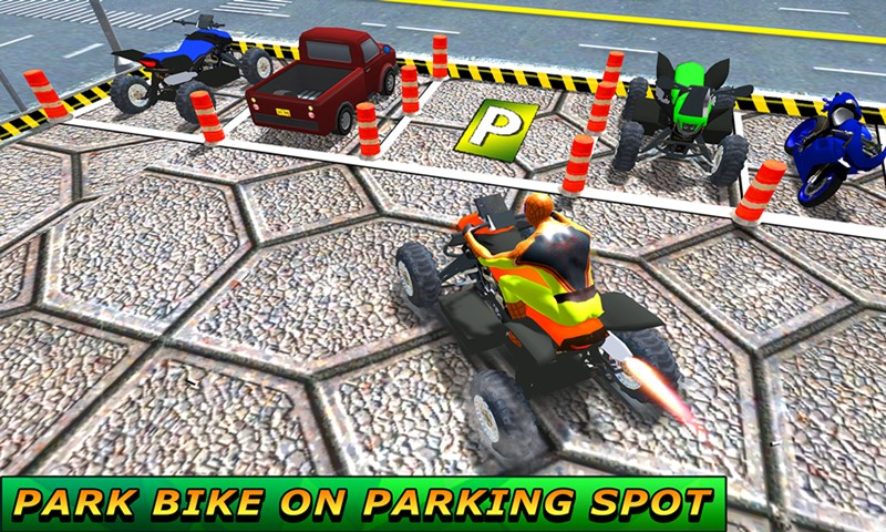 Quad Bike Games ATV Parking