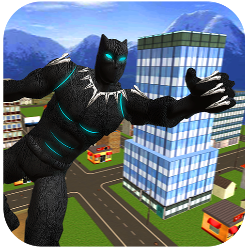 Super Flying Panther Hero Survival