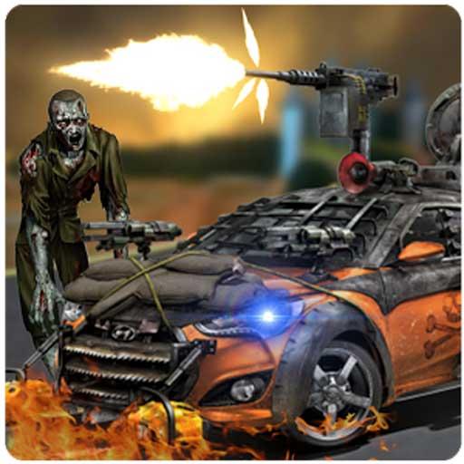 Zombie Shooting Race Adventure: Guns Cars, Zombies