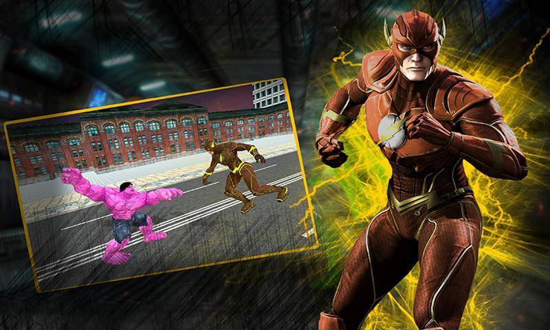 Bat Light Hero Crime Battle