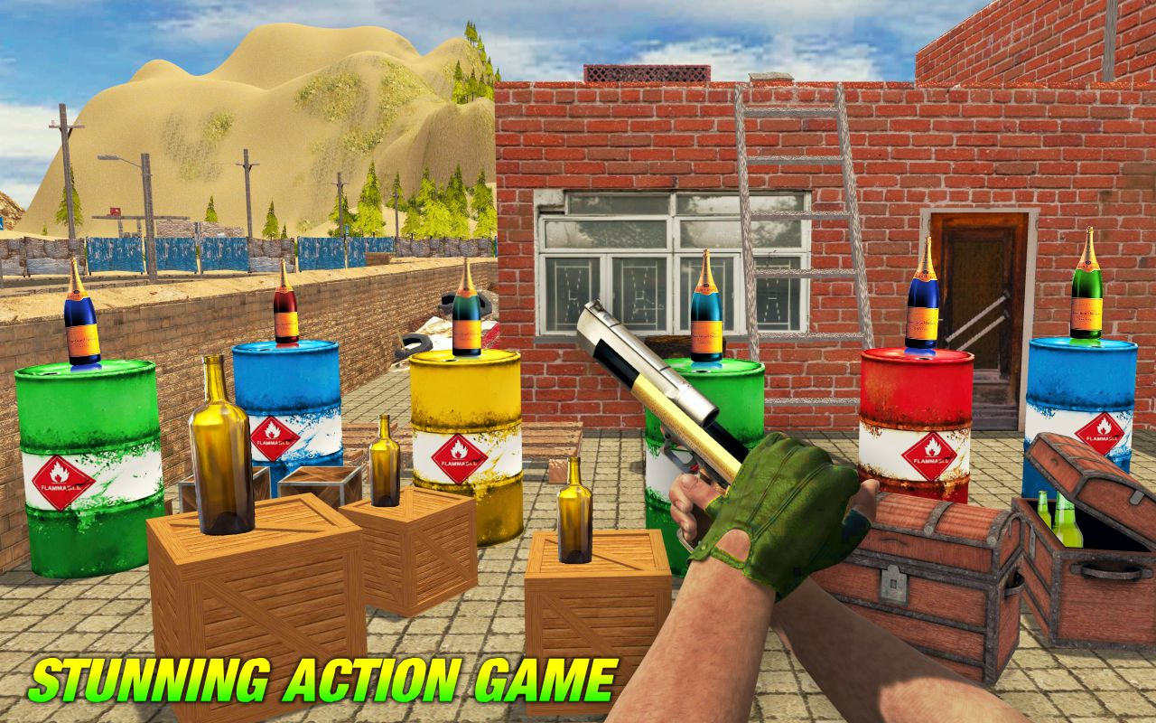 Bottle Shooter Master Gun 3D - Online