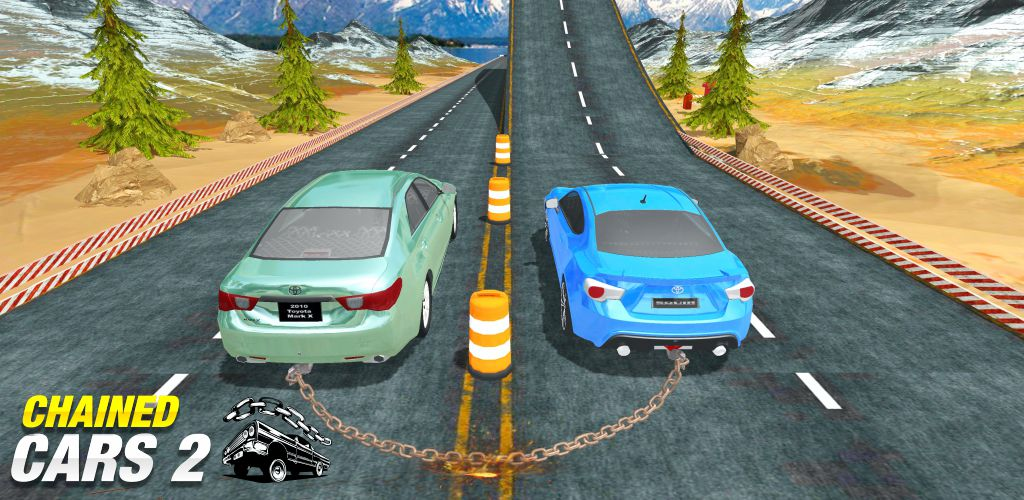 Chained Cars 3D 2