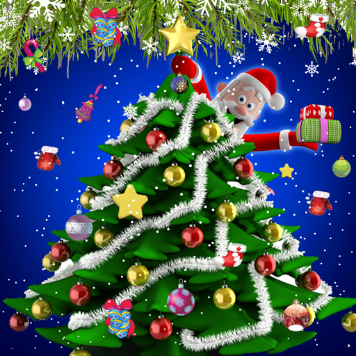 Christmas Tree Decoration - Help Santa Claus