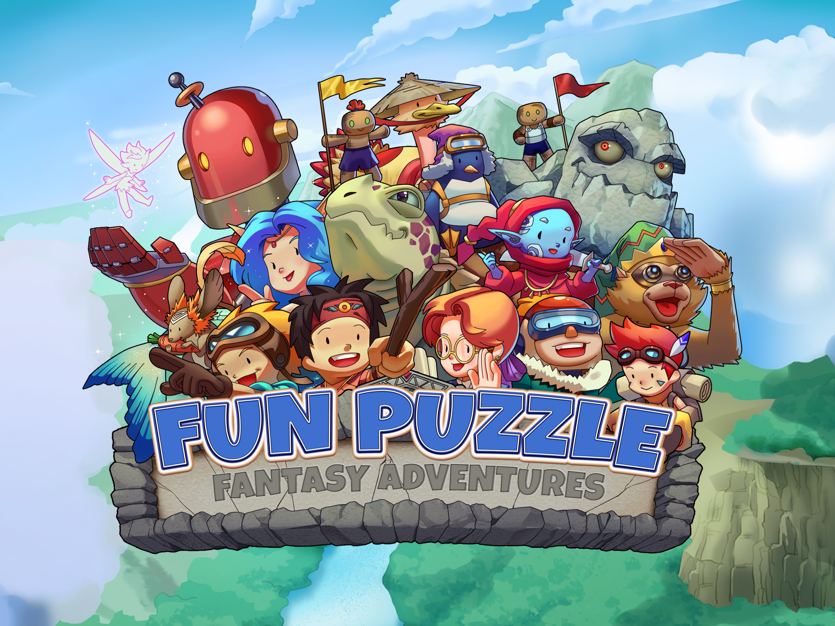 Fun Puzzle: Fantasy Adventures