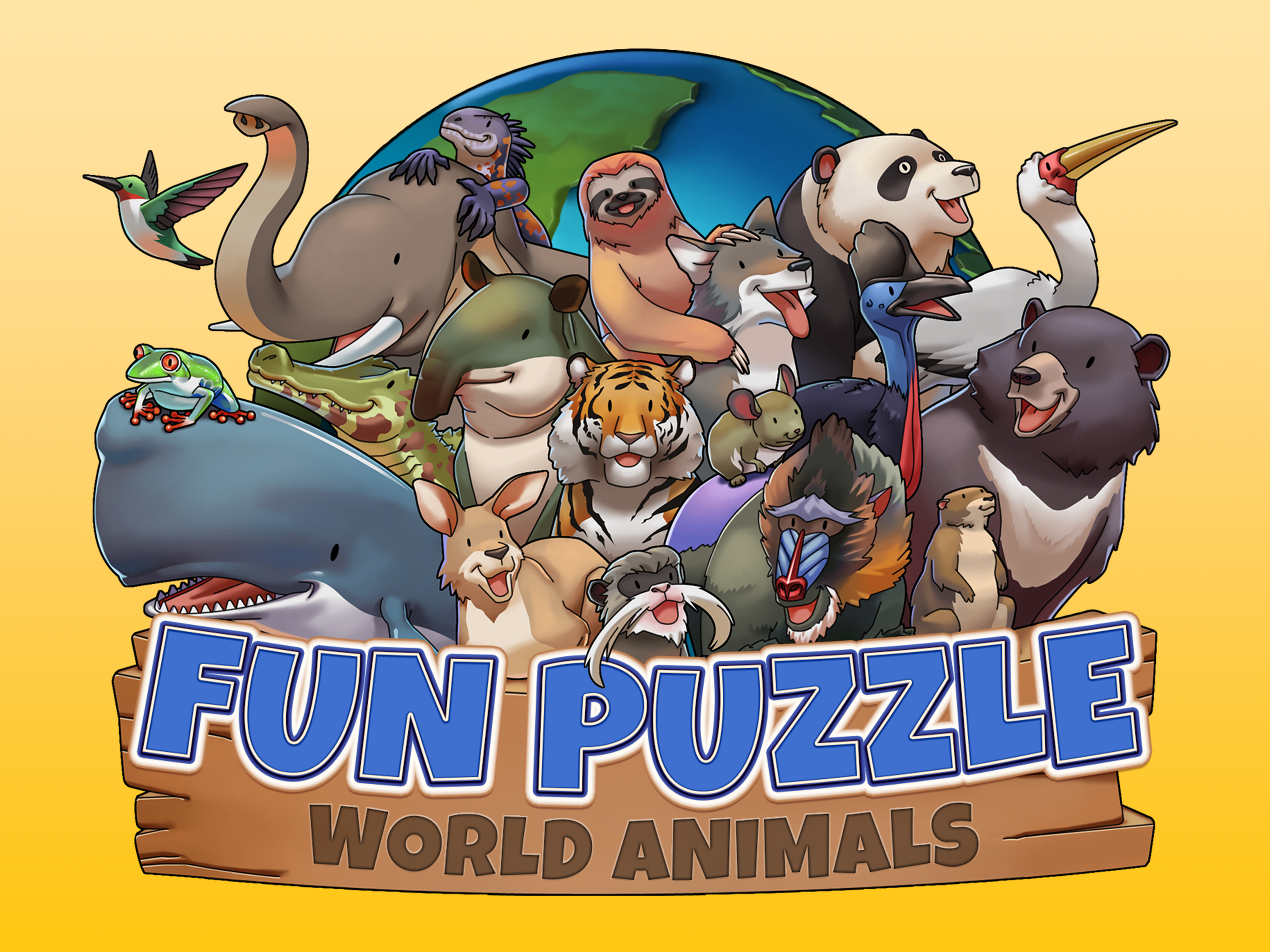 Fun Puzzle: World Animals