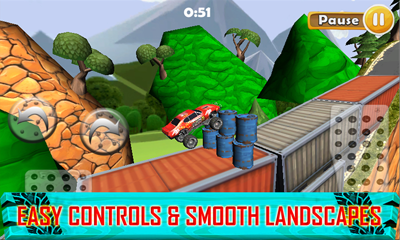 Hill Impossible stunt Climb racing 2