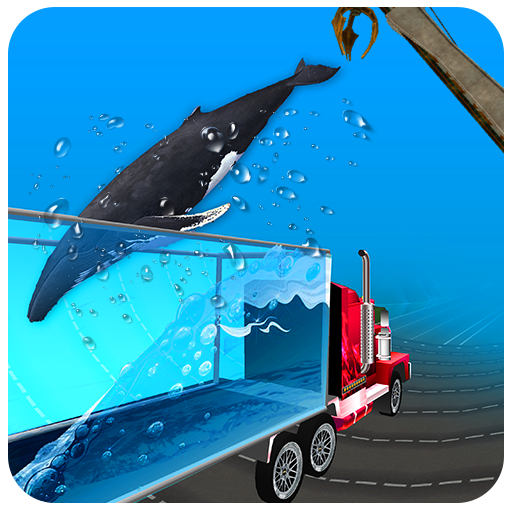 Impossible Sea Animal Truck Driving Tracks