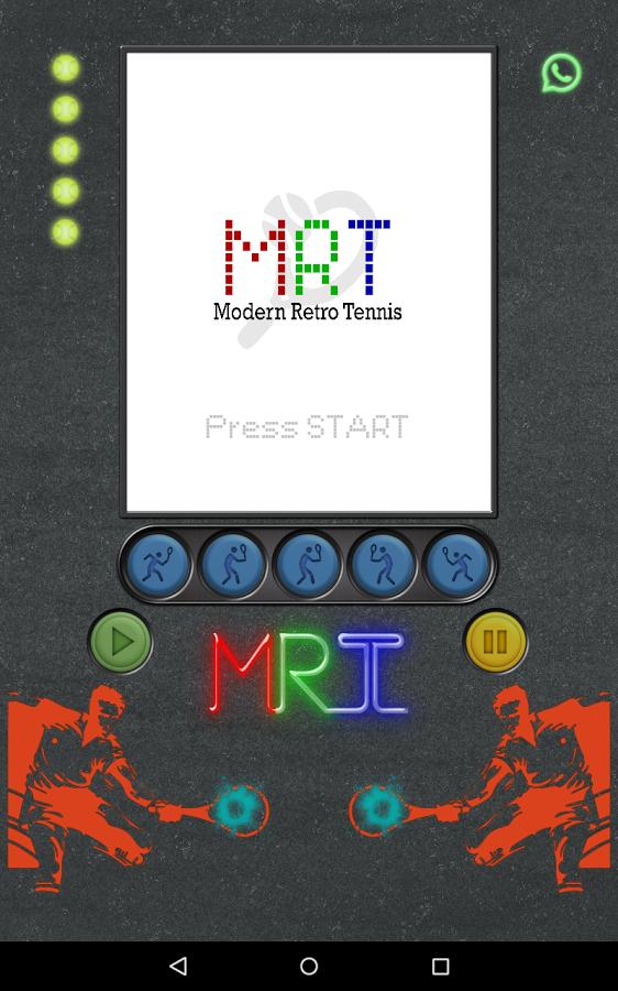 Modern Retro Tennis