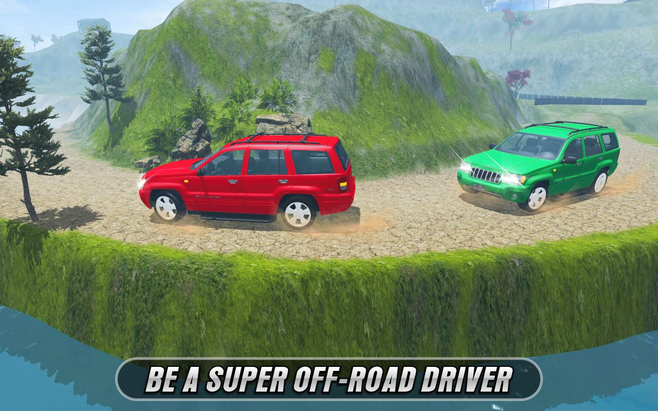 Off-road Dangerous 4x4 Jeep Adventure