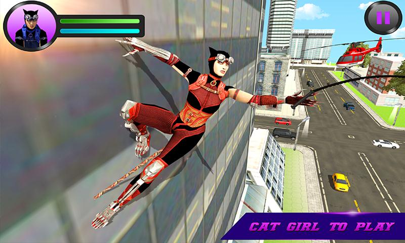 Super Cat Girl Crime Battle