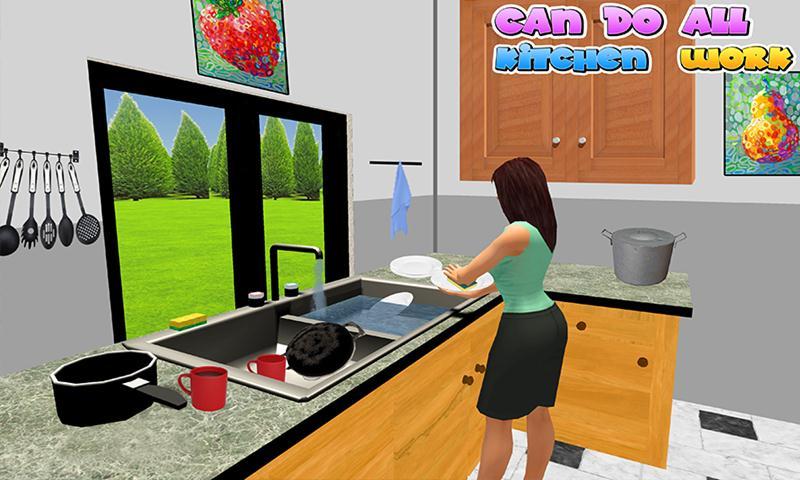 Virtual Sister Family Simulator