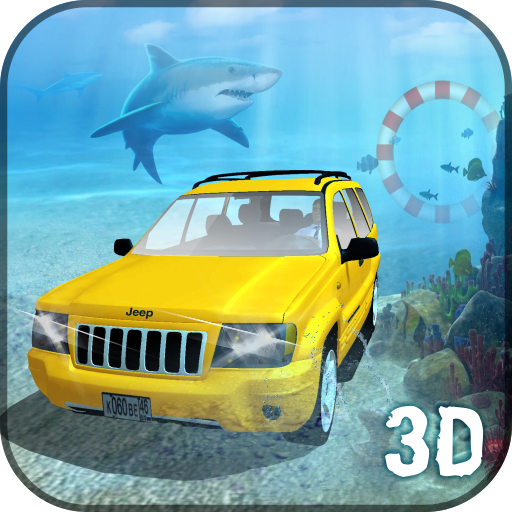 Water Land Cruiser Prado Driver 3D