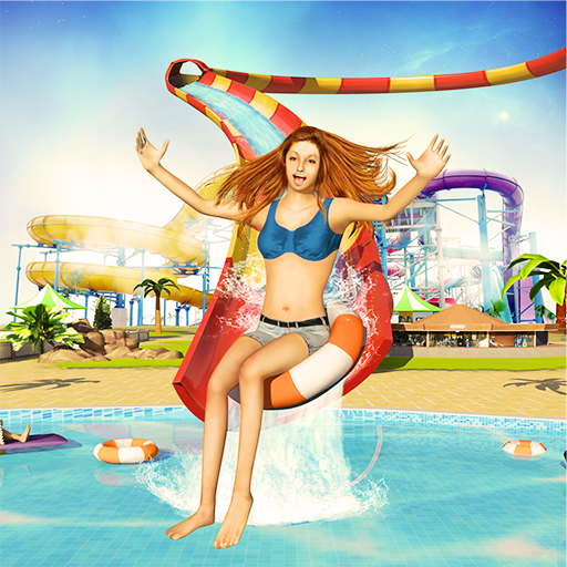 Water Park 3D: Crazy Man Runner