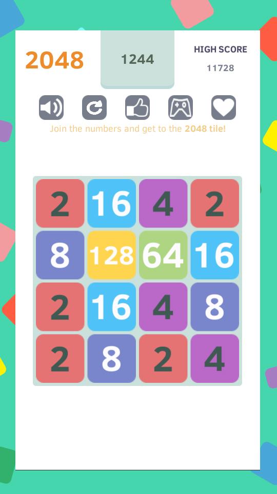 2048 - worldwide poplar game