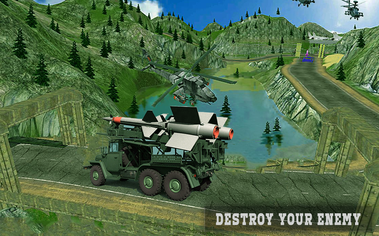 Army Missile Launcher Truck