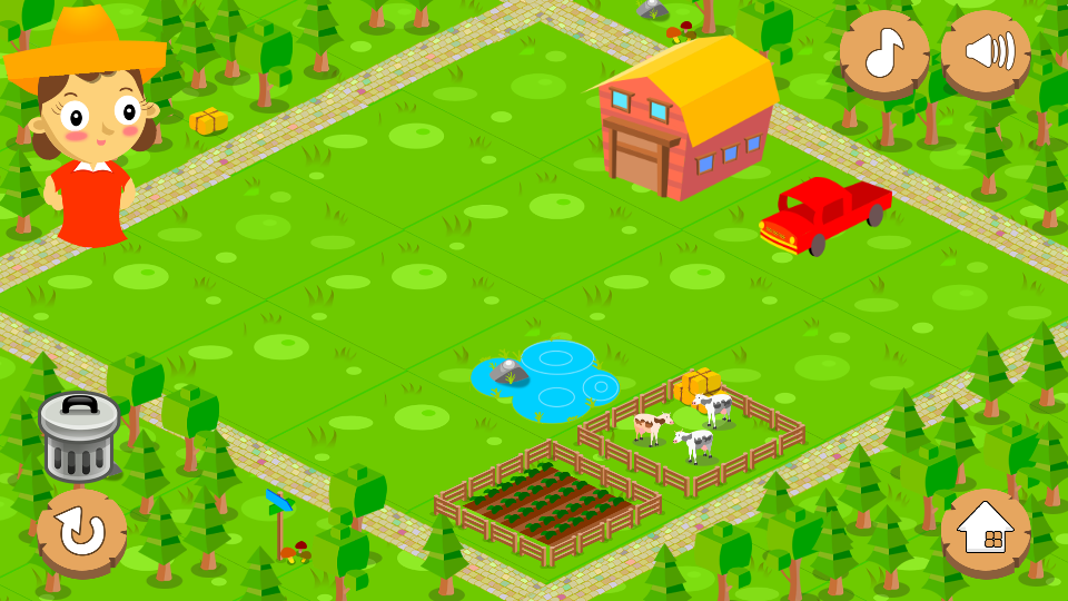 Countville-Farming Game for Kids with Counting