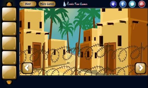 Desert Lonely House Escape