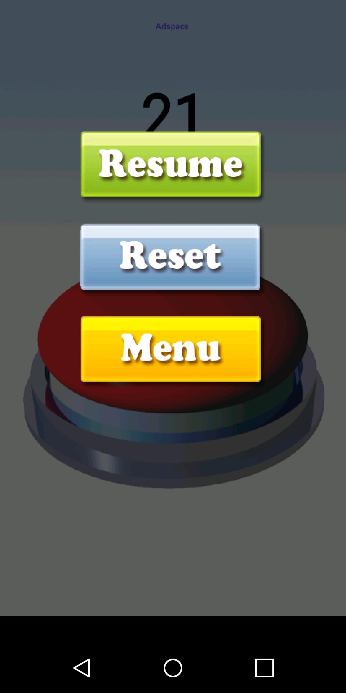Fidget Counter Button