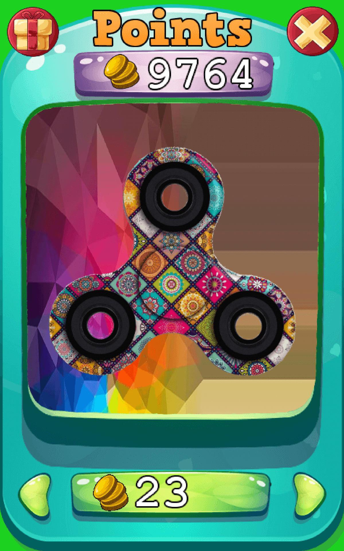 Fidget Mandala Spinner