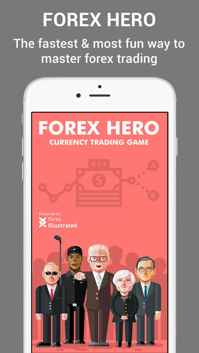 Forex Hero – trading game for beginners