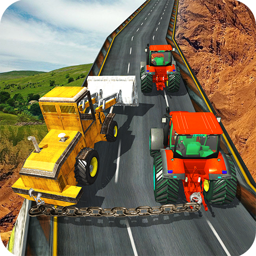 Heavy Duty Cargo Tractor - Climb Simulator Games