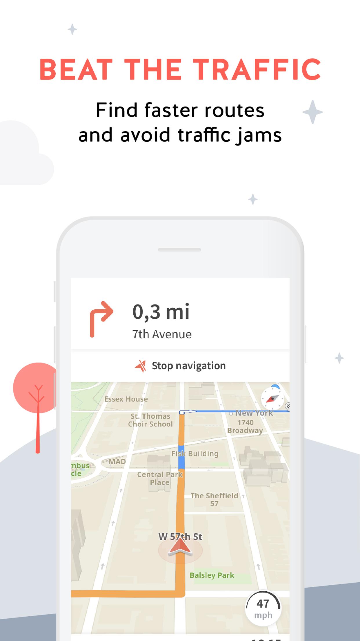 Karta GPS