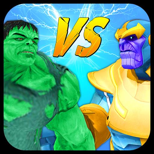 Monster Hero Vs Supervillain: Crime War