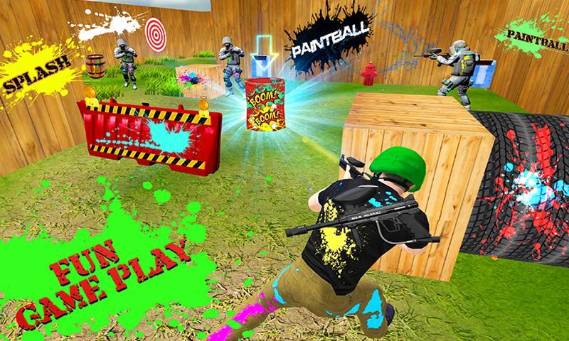 Paintball Shooting Combat Arena
