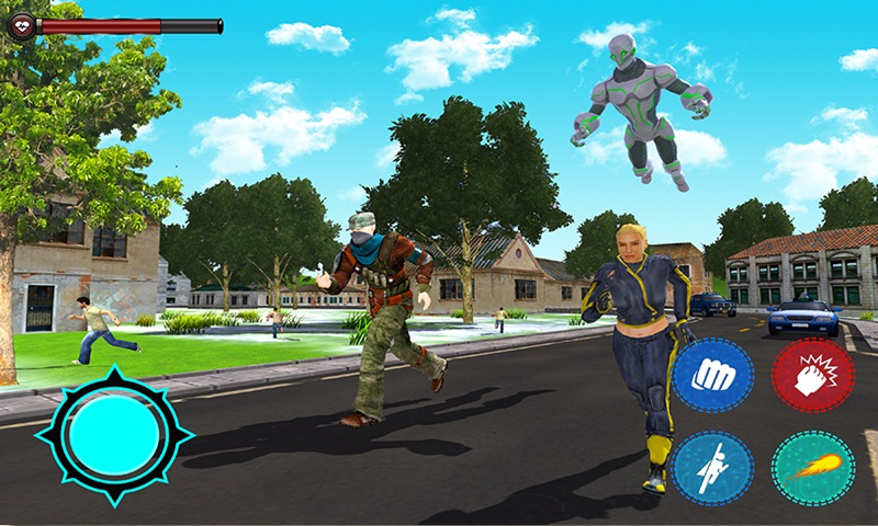 Robot Ball City Battle