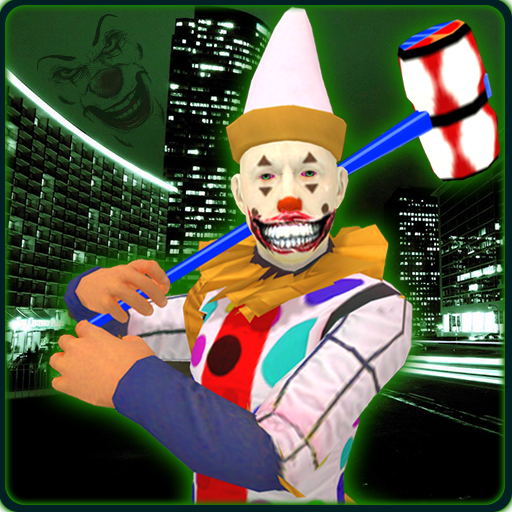 Scary Clown City Attack