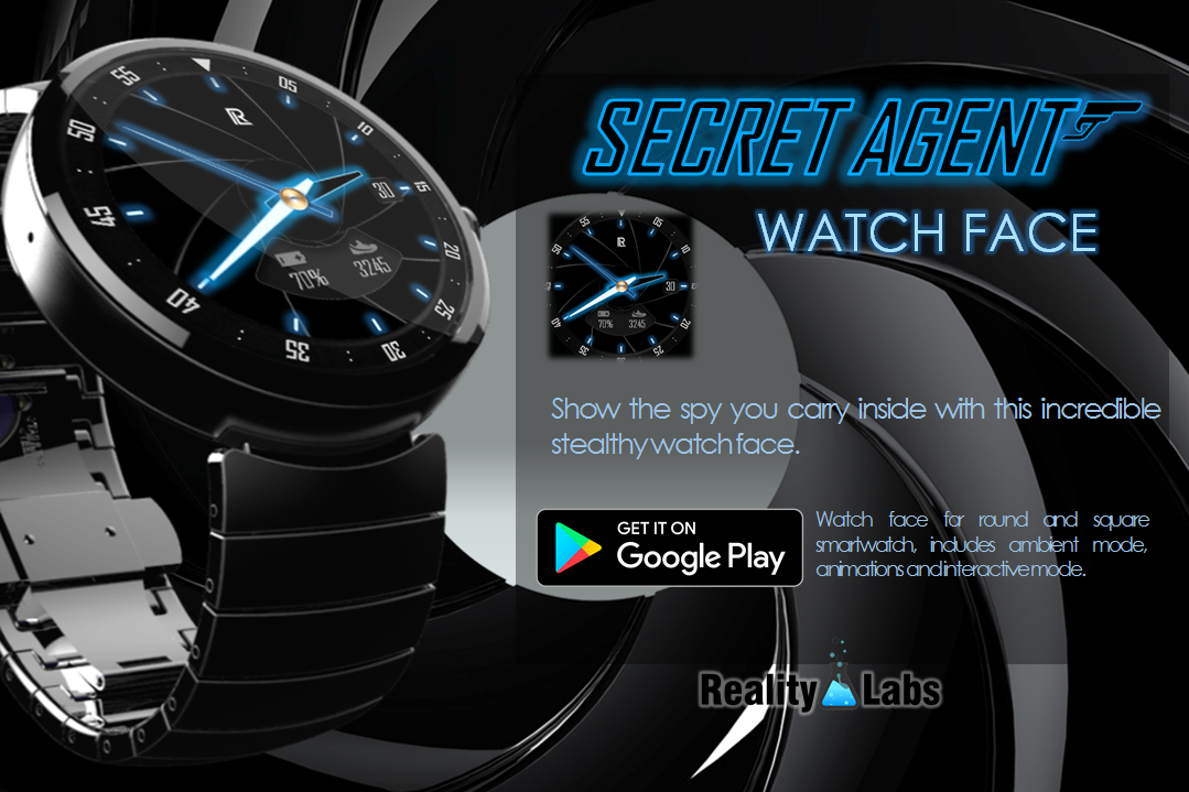Secret Agent - Watch Face