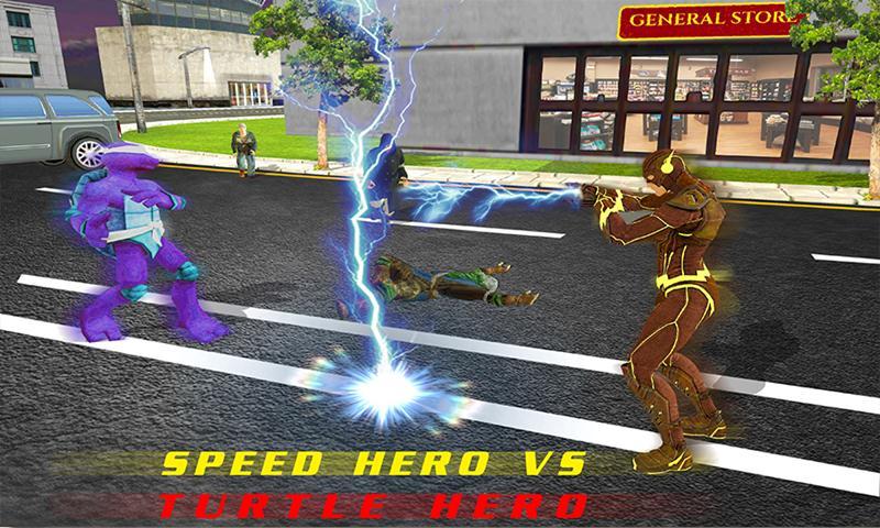 Super Light Speed Hero Vs Super Villains