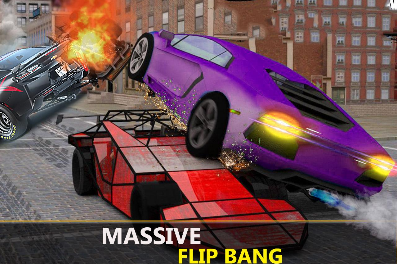 The Ramp Car Flip - Demolition Derby