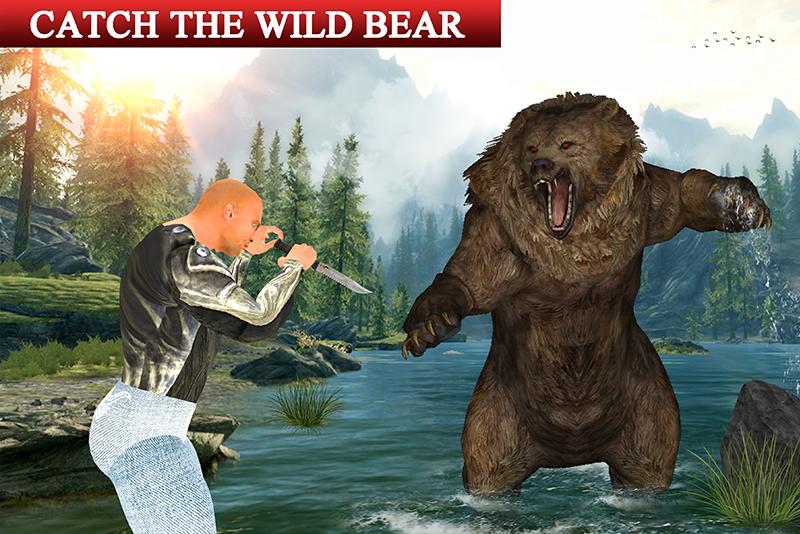 Ultimate Hunter vs Gorilla Rampage