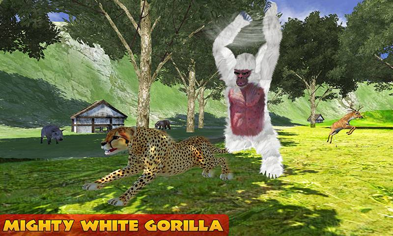 Ultimate White Gorilla Rampage