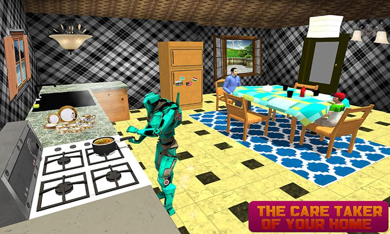 Virtual Robot Family Sim