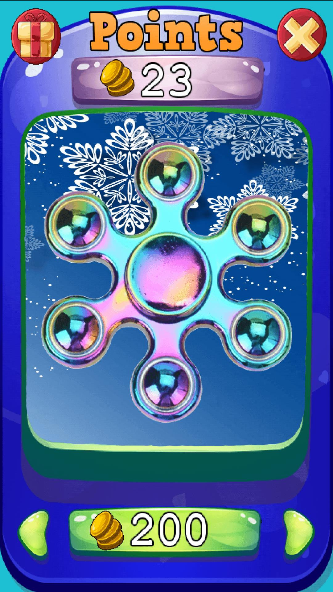 Xmas Spinner - Fidget Spinner - New Year Game