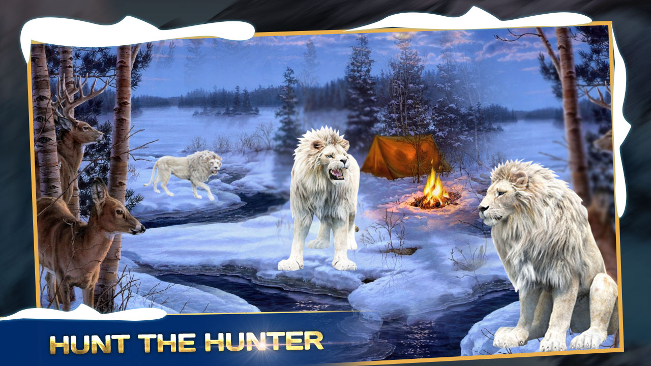 Angry Wild Lion Animal Hunting : Adventure Game