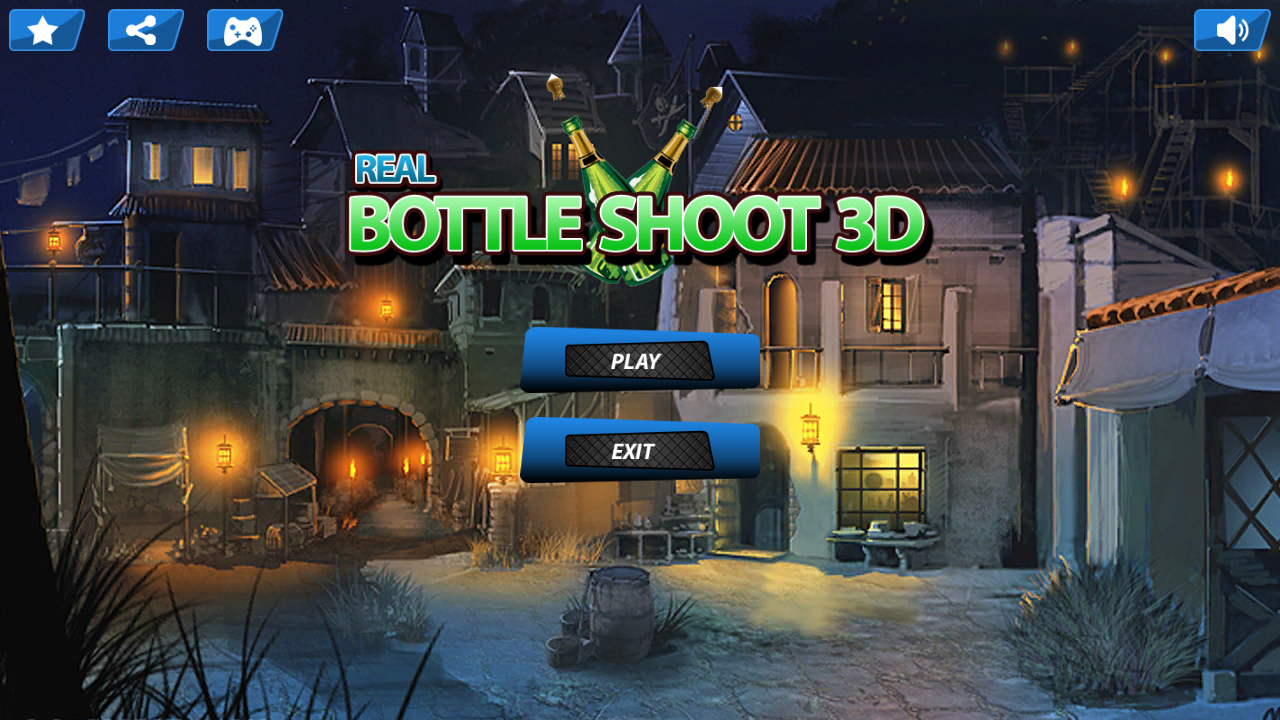 Bottle Shoot 3D - Shooting Expert