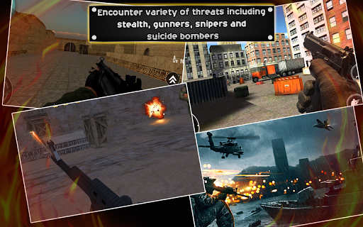 Commando Sniper Shooting: Army Attack Game