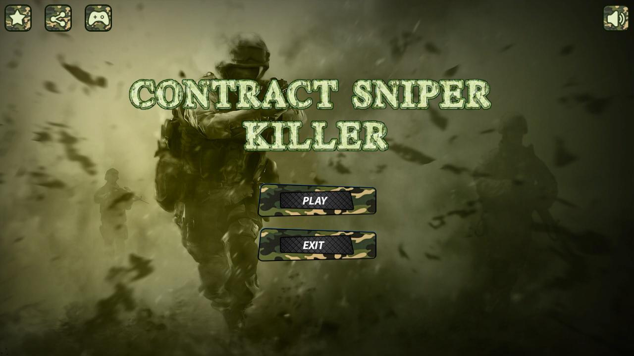 Contract Sniper Killer 3D